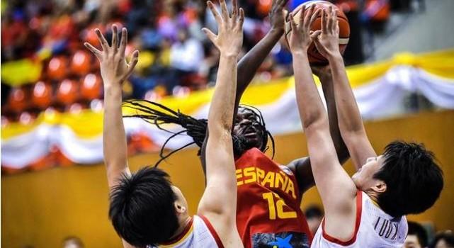 U19女篮世界杯-国青女篮52-55西班牙 无缘四强